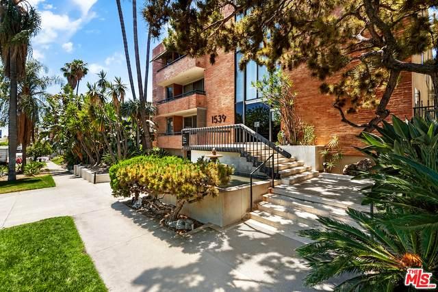 1539 N Laurel Ave #304, Los Angeles, CA 90046 (#21-749980) :: The Pratt Group