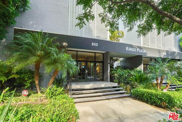 850 N Kings Rd #102, West Hollywood, CA 90069 (MLS #21-750182) :: The Jelmberg Team