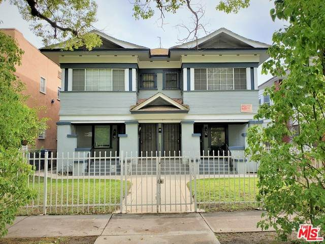 836 W 40TH Pl, Los Angeles, CA 90037 (#21-750296) :: Angelo Fierro Group | Compass