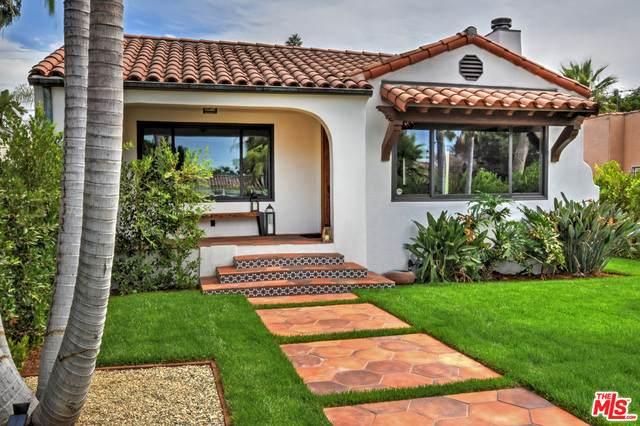 736 N Orange Grove Ave, Los Angeles, CA 90046 (#21-750378) :: The Pratt Group