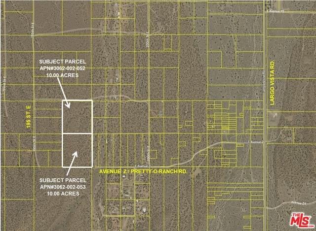 0 195 Street E And Avenue Z, Llano, CA 93544 (MLS #21-751050) :: Hacienda Agency Inc