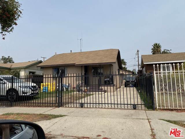 1133 W 89Th St, Los Angeles, CA 90044 (MLS #21-752358) :: The John Jay Group - Bennion Deville Homes