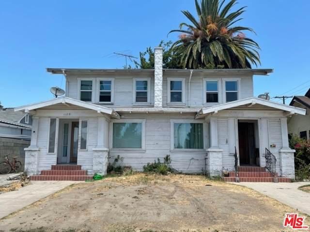 1173 Browning Blvd, Los Angeles, CA 90037 (#21-752712) :: Randy Plaice and Associates