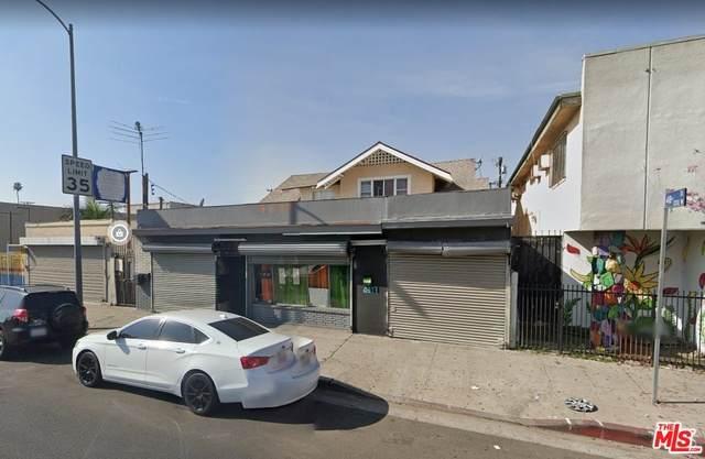 4815 S Normandie Ave, Los Angeles, CA 90037 (#21-760726) :: Berkshire Hathaway HomeServices California Properties
