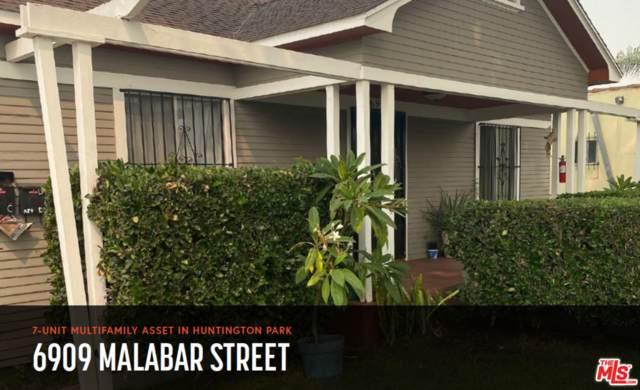 6909 Malabar St, Huntington Park, CA 90255 (#21-762280) :: The Pratt Group