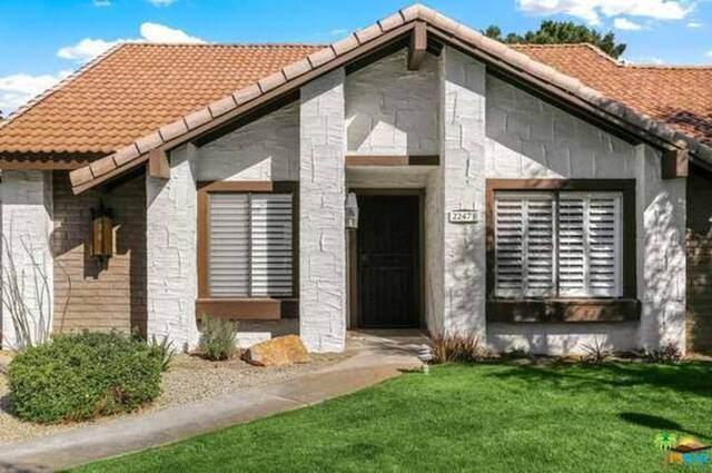 2247 Miramonte Cir F, Palm Springs, CA 92264 (MLS #21-762340) :: The Jelmberg Team