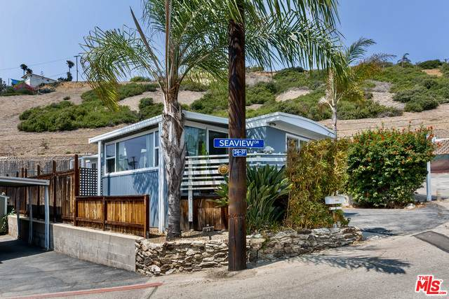 16321 Pacific Coast Hwy #24, Pacific Palisades, CA 90272 (MLS #21-762424) :: The Jelmberg Team