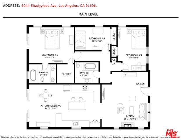 6044 Shadyglade Ave, Valley Glen, CA 91606 (#21-762472) :: The Parsons Team