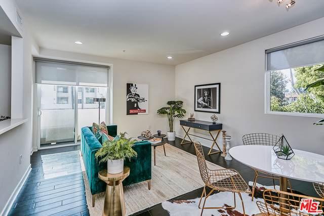 436 S Virgil Ave #203, Los Angeles, CA 90020 (MLS #21-763204) :: The John Jay Group - Bennion Deville Homes