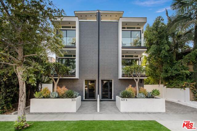 509 N Sycamore Ave, Los Angeles, CA 90036 (#21-763440) :: Berkshire Hathaway HomeServices California Properties