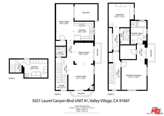 5021 Laurel Canyon Blvd #1, Valley Village, CA 91607 (#21-763702) :: Lydia Gable Realty Group