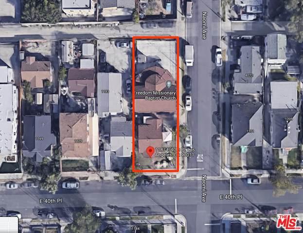 1187 E 40Th Pl, Los Angeles, CA 90011 (MLS #21-764910) :: The John Jay Group - Bennion Deville Homes