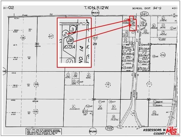 0 Highway 14 And Sopp Road, Rosamond, CA 93560 (#21-765248) :: Montemayor & Associates