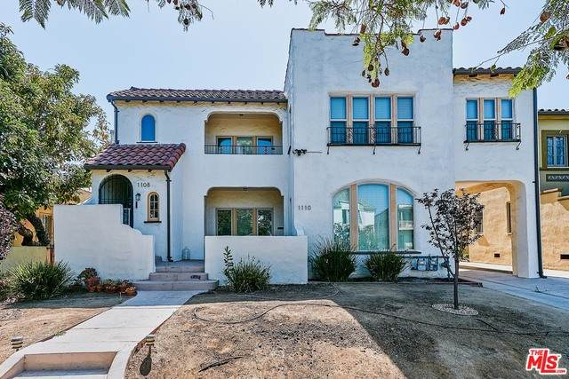1108 Meadowbrook Ave, Los Angeles, CA 90019 (#21-765650) :: Montemayor & Associates