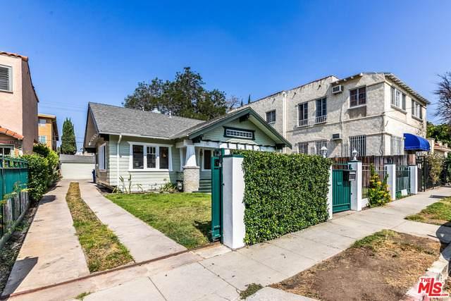 1341 N Mansfield Ave, Los Angeles, CA 90028 (MLS #21-765672) :: The Sandi Phillips Team