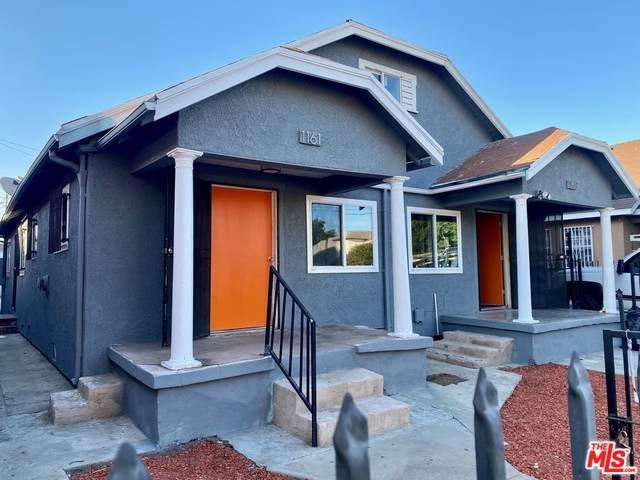 1159 W Vernon Ave, Los Angeles, CA 90037 (MLS #21-766602) :: Hacienda Agency Inc