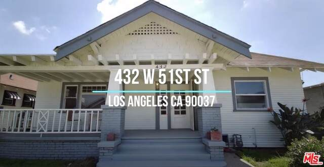 432 W 51St St, Los Angeles, CA 90037 (#21-766874) :: Lydia Gable Realty Group