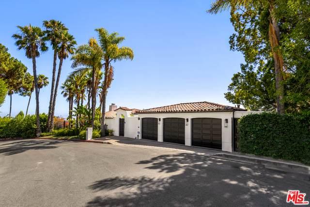 1381 Summitridge Dr, Beverly Hills, CA 90210 (#21-767848) :: The Suarez Team