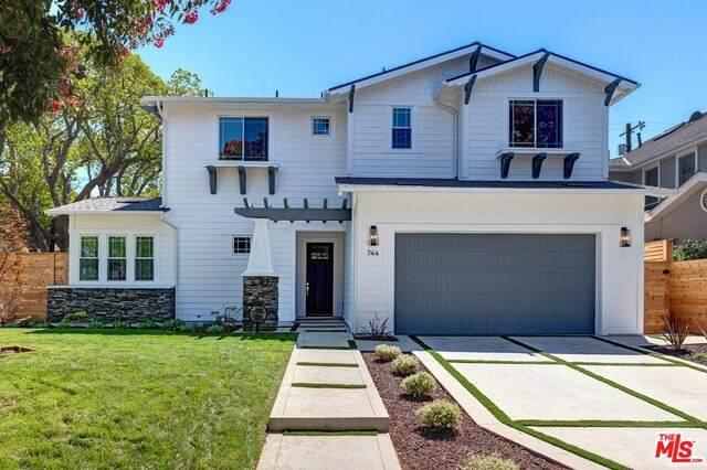 744 Almar Ave, Pacific Palisades, CA 90272 (#21-768368) :: TruLine Realty