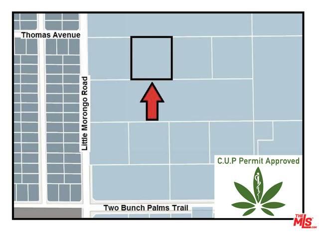 2 .5 Acres C.U.P. Approved, Little Morongo, Desert Hot Springs, CA 92240 (#21-769686) :: The Pratt Group