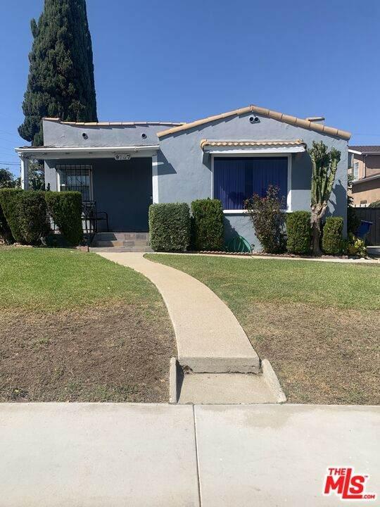 9707 S Denker Ave, Los Angeles, CA 90047 (#21-787978) :: The Pratt Group