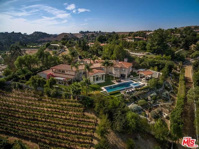 6005 Annie Oakley Rd, Hidden Hills, CA 91302 (#21-791110) :: The Pratt Group