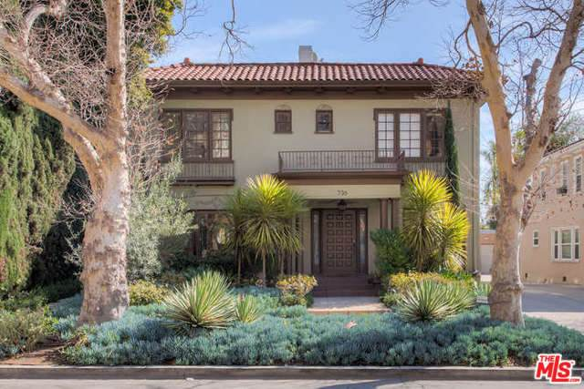 734 S Sycamore Ave, Los Angeles, CA 90036 (MLS #21-794056) :: The Jelmberg Team