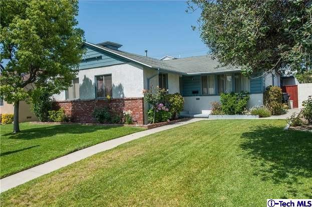 2809 N Frederic Street, Burbank, CA 91504 (#319003115) :: The Pratt Group