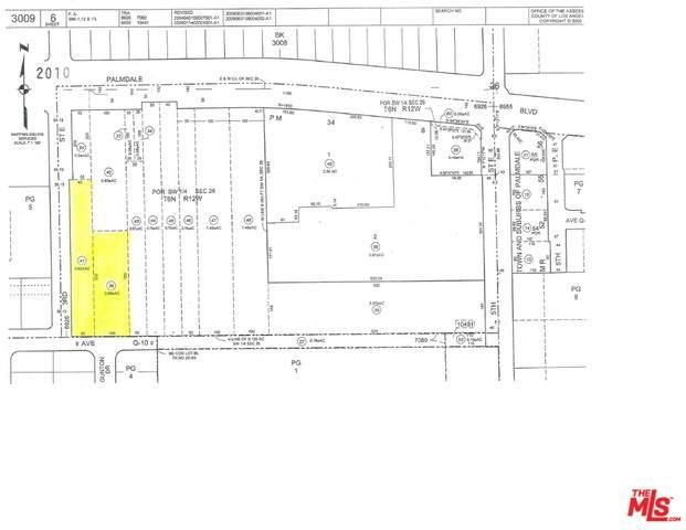 0 Vac/Ave Q10/Vic 3Rd Ste, Palmdale, CA 93550 (MLS #20-557844) :: Mark Wise | Bennion Deville Homes