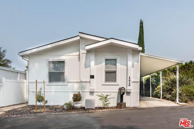4201 Topanga Canyon Blvd #172, Woodland Hills, CA 91364 (#20-632240) :: Compass