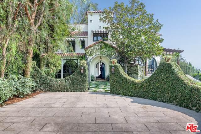 1462 N Kings Rd, Los Angeles, CA 90069 (#20-635124) :: The Pratt Group
