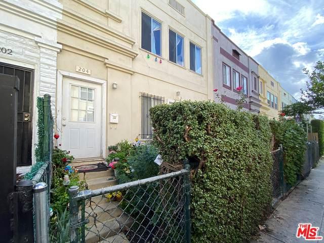 204 Columbia Pl, Los Angeles, CA 90026 (#21-684298) :: TruLine Realty