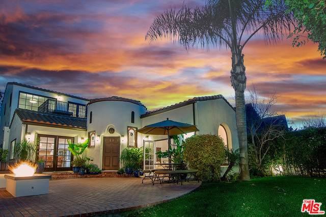 6402 Lindenhurst Ave, Los Angeles, CA 90048 (MLS #21-695852) :: The Sandi Phillips Team