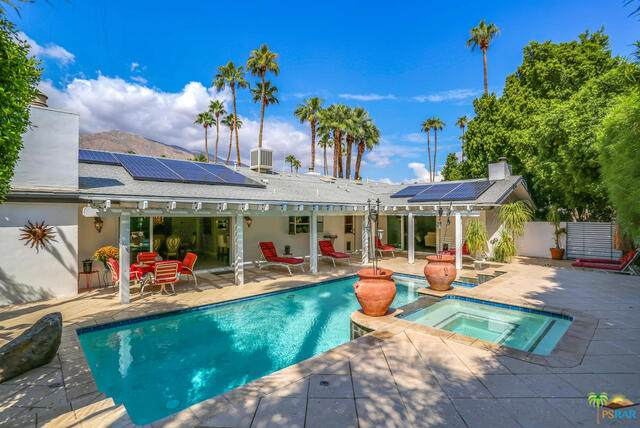 1524 S Calle Marcus, Palm Springs, CA 92264 (#21-712344) :: TruLine Realty