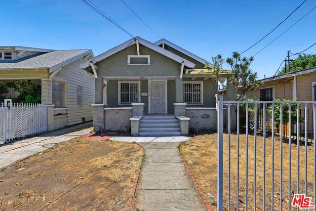 1596 W 35Th Pl, Los Angeles, CA 90018 (#21-750074) :: Angelo Fierro Group | Compass