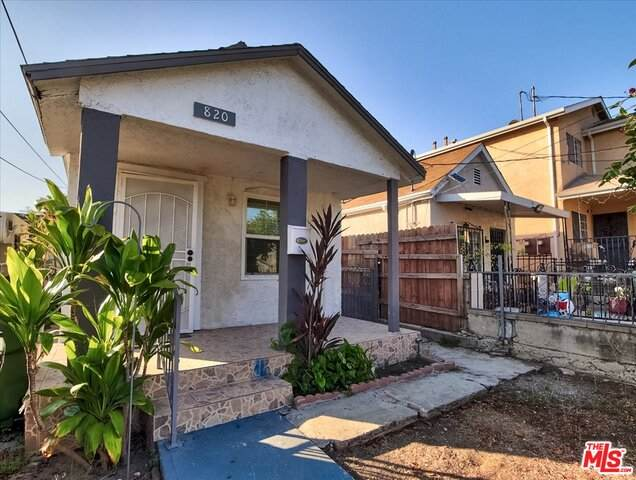 820 N St Louis St, Los Angeles, CA 90033 (#21-759348) :: The Grillo Group
