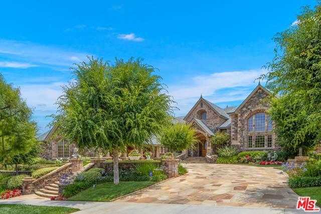 25636 Oak Meadow Dr, Valencia, CA 91381 (MLS #21-680058) :: Hacienda Agency Inc