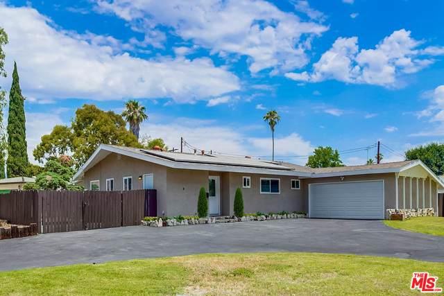 16453 Los Alimos St, Granada Hills, CA 91344 (#21-758640) :: The Pratt Group