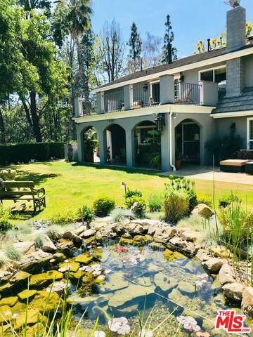 19421 Greenbriar Dr, Tarzana, CA 91356 (#21-761872) :: Berkshire Hathaway HomeServices California Properties