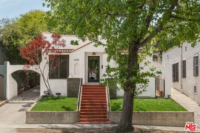 4870 Stratford Rd, Los Angeles, CA 90042 (#21-750238) :: Montemayor & Associates