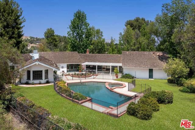 5860 Fitzpatrick Rd, Hidden Hills, CA 91302 (#21-768200) :: The Pratt Group