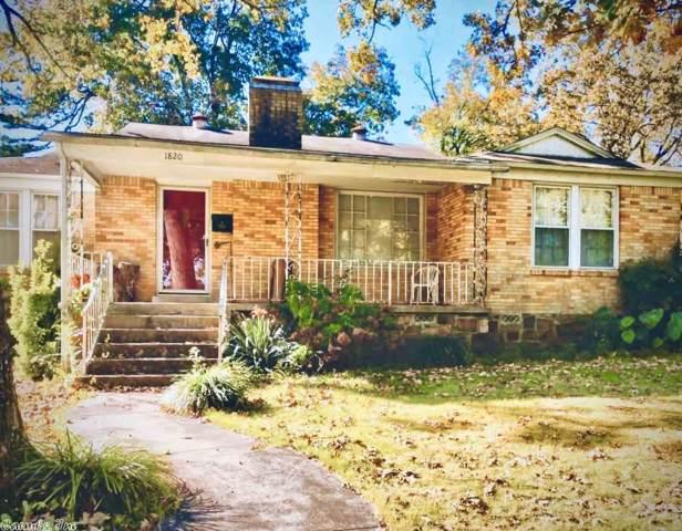 1820 S Tyler, Little Rock, AR 72204 (MLS #19036033) :: Truman Ball & Associates - Realtors® and First National Realty of Arkansas