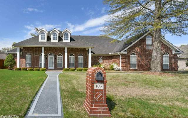 103 Misty Valley Lane, Maumelle, AR 72113 (MLS #20010985) :: Truman Ball & Associates - Realtors® and First National Realty of Arkansas