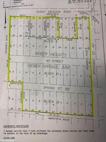 & Broadway, Heber Springs, AR 72543 (MLS #20031386) :: United Country Real Estate