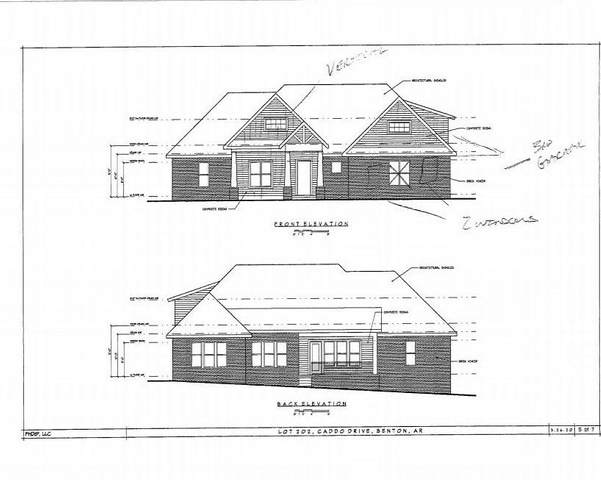 832 Grand Teton, Benton, AR 72019 (MLS #20032574) :: United Country Real Estate