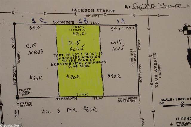 0 Jackson Street, Mountain View, AR 72560 (MLS #20038121) :: United Country Real Estate