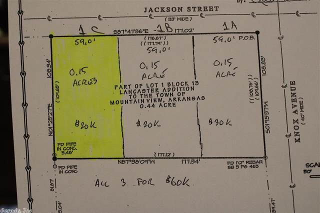 0 Jackson Street, Mountain View, AR 72560 (MLS #20038122) :: United Country Real Estate