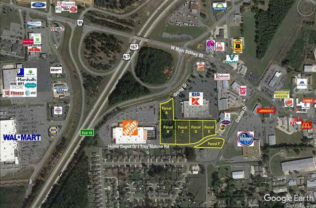 0 Dakota & Home Depot, Cabot, AR 72023 (MLS #21017509) :: The Angel Group
