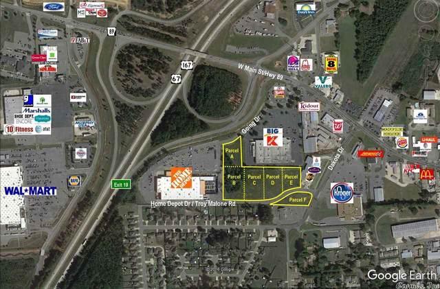 0 Dakota & Home Depot, Cabot, AR 72023 (MLS #21017524) :: The Angel Group