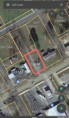 605 Main Street, Pangburn, AR 72121 (MLS #21025849) :: The Angel Group